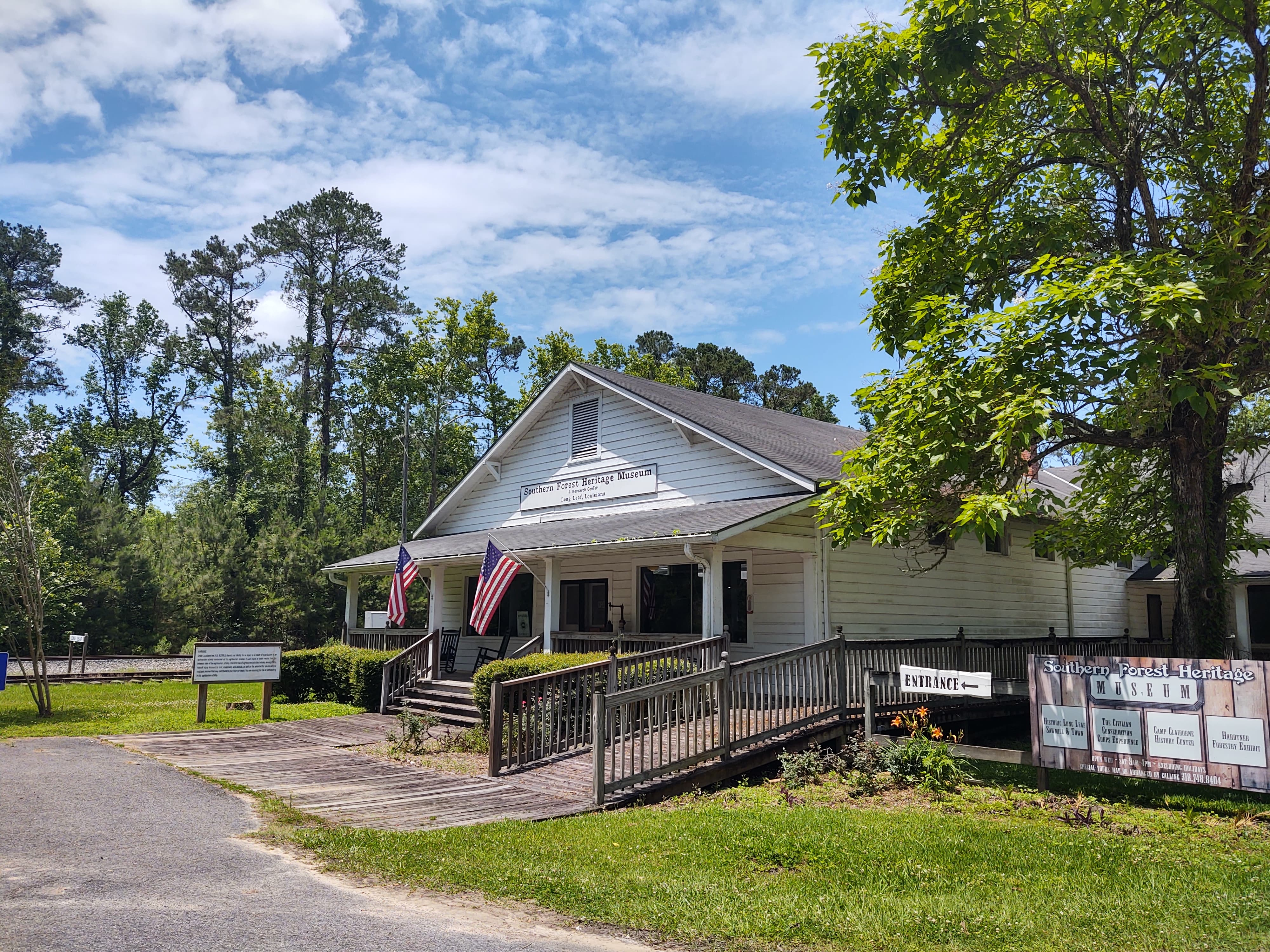 Southern Forest Heritage Museum Longleaf, Louisiana