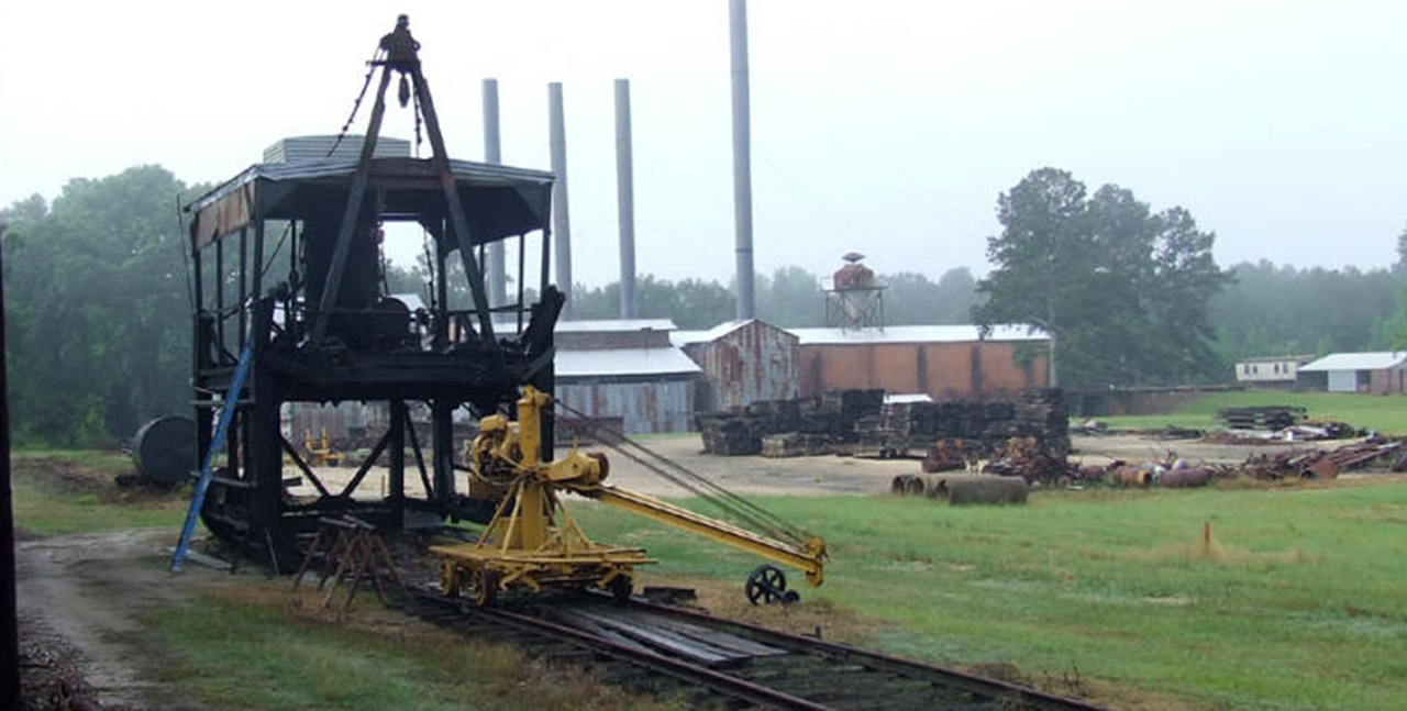 Southern Forest Heritage Museum Logging Equipment