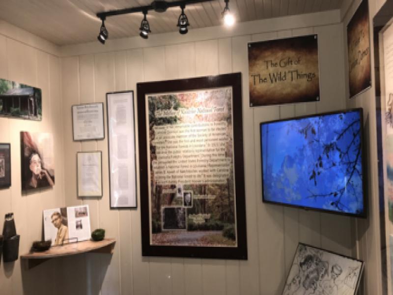 Southern Forest Heritage Museum Exhibit - Caroline Dormon