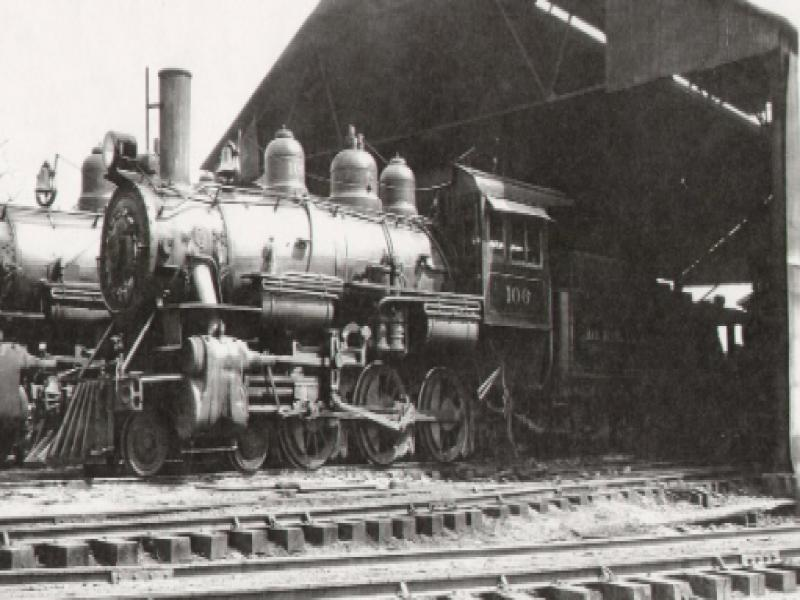 Southern Forest Roundhouse, c 1940