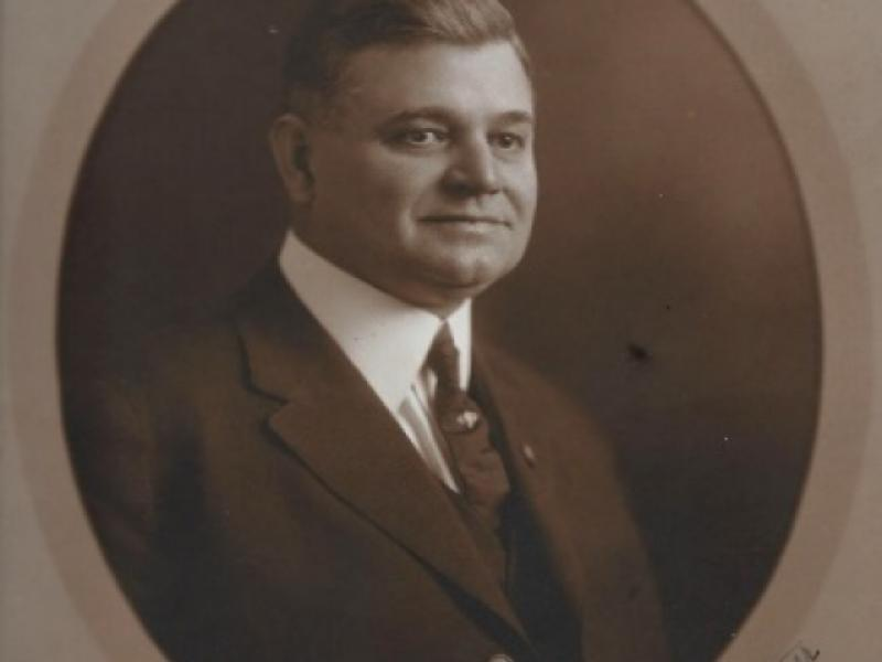 Southern Forest Heritage Museum Exhibit - Henry Hardtner