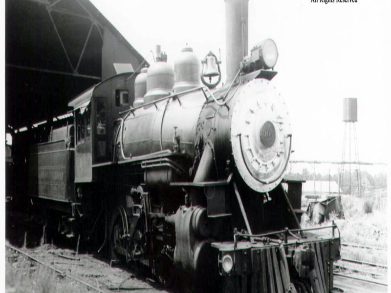 Red River & Gulf Engine #106