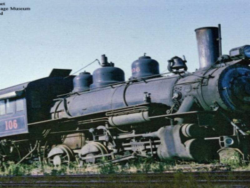 Red River & Gulf Railroad #106