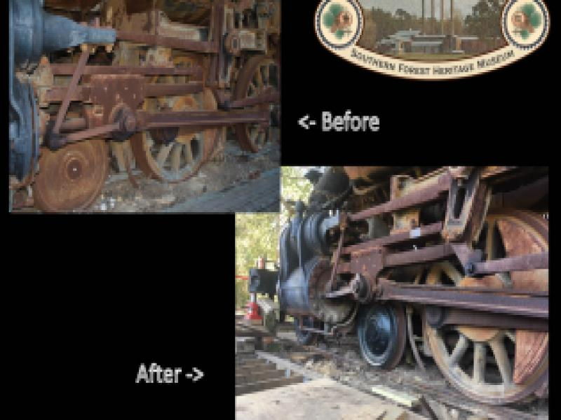 Red River & Gulf Engine #106 Stabilization Project