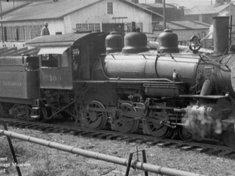 Red River & Gulf Railroad #106 - 1950