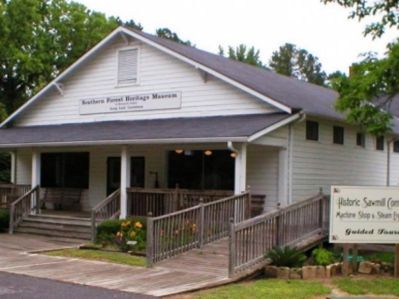 Book a Meeting at the Southern Forest Heritage Museum